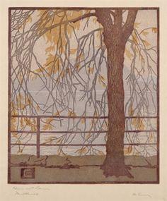 Niesen mit Baum by Martha Cunz
