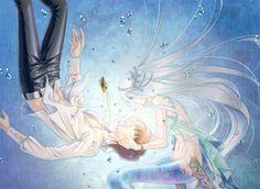 Seto Kaiba x Kisara en sirène - Blueshipping - Yu-Gi-Oh!