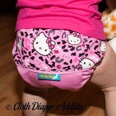 Hello Kitty Leopard Ella Bella Bum: Daily Diaper | Parenting Patch