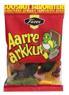 Fazer AARREARKKU (Treasure Chest) Traditional Finnish Mix of Salmiak Licorice & Fruity Wine Gums Candy Bag 180g Fazer http://www.amazon.com/dp/B00EMXV54G/ref=cm_sw_r_pi_dp_9H1owb1WYZH3A
