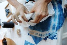 Tropical Workshop : Tie dye, indigo and shibori en photos — MISS CLOUDY