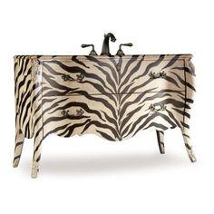 Zebra Bathroom Vanity