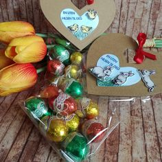 Scrappiness: Påskepose med sjokoladeegg
