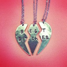 Best Bitches Necklace is now restocked!! Don't miss out this time!