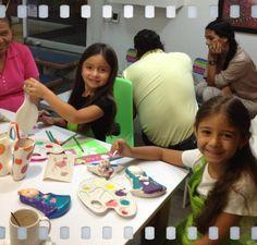 kids in café pintado.
