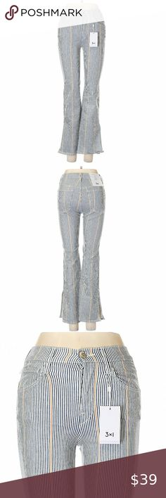 I just added this listing on Poshmark: Striped Print High Rise Flared Leg Boho Jeans. Jeans For Sale, Stripe Print, Flare Jeans, Boho Fashion, Harem Pants, Blue And White, Legs, Cotton, Shopping