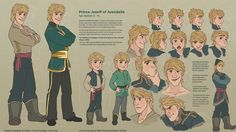 Anna and Kristoff's son, Joseff :) - He has Anna's eyes!!!