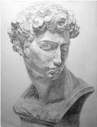 石膏デッサン-メディチの鉛筆デッサン制作過程10 Human Drawing, Basic Drawing, Figure Drawing, Graphite Drawings, Cool Drawings, Drawing Sketches, Pencil Drawings, Roman Sculpture, Sculpture Art