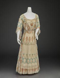 Afternoon Dress Girolamo Giuseffi c.1910 Indianapolis Museum of Art
