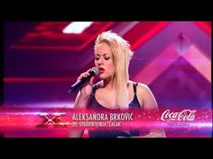 Aleksandra Brkovic (Listen - Beyonce) audicija - X Factor Adria - Sezona 1 Listen Beyonce, Factors, Tv, Concert, Recital, Television Set