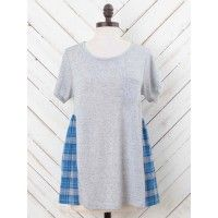 Altar'd State Perfect in Plaid Top