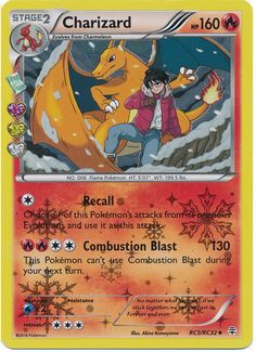 Charizard RC5/RC32 Pokemon TCG: Generations Radiant Collection, Holo Pokemon Card