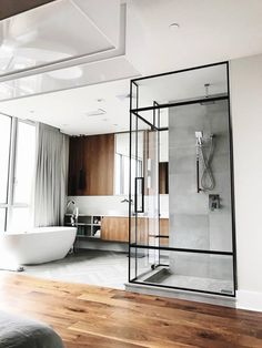 61 ideas bath room modern design black shower doors for 2019
