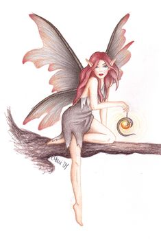 Fantasy Creatures, Mythical Creatures, Fairy Drawings, Fairy Tattoo Designs, Elves And Fairies, Fairy Pictures, Gothic Fairy, Fairy Coloring, Fairy Figurines