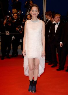 Cannes 2014 - Marion Cotillard in Christian Dior haute couture - Day 7 (montée des marches Two Days, One Night)