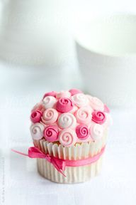 receitando: Rose cupcake