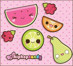 kawaii fruit
