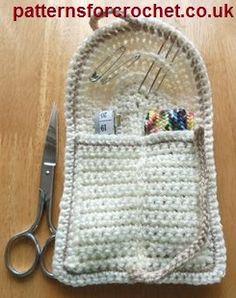 Free crochet pattern a handy sewing kit USA