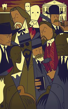 Django Unchained [Quentin Tarantino, 2012] «Quentin Tarantino Author: Ale Giorgini»