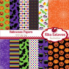 """Lilac Charm Papers - Digital Clipart  12 High Resolution 300dpi papers JPG´s  Each digital papers is : 12"""" x 12"""""""