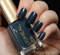 rainy picadilly | esmalte loreal rainy piccadilly 114 -- color of the week 3/12/14