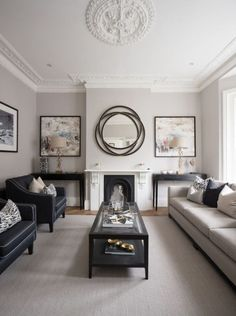 35 super stylish and inspiring neutral living room designs home rh pinterest com
