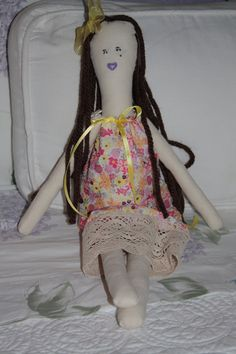 SALE Chere Doll Handmade OneofAKind Soft Long and by sherimusum, $75.00