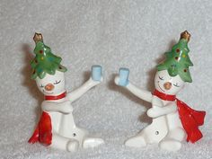 Vintage Christmas Holt Howard Ole Snowy Tipsy Snowman by crazy4me
