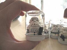 Storm trooper snow globes