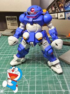 HG 1/144 Grimoire 'Doraemon' Ver. - Customized Build
