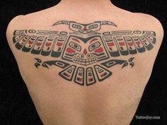 Haida Bird Tattoo