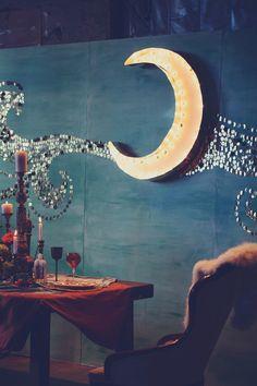 Moon decor