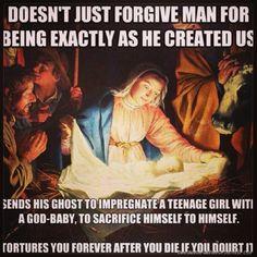 Created by ignorant men. Period.