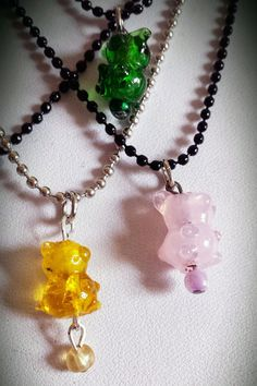 SHOW SPECIAL PRICE Gummi Bear Necklaces by JenBeeCardCo on Etsy