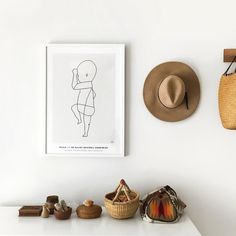 perfect gift for new moms: framed print by Holiday Gift Guide, Holiday Gifts, Baby Sketch, Gifts For New Moms, Beautiful Gifts, Watercolor Illustration, Baby Gifts, Kids Room, How To Memorize Things