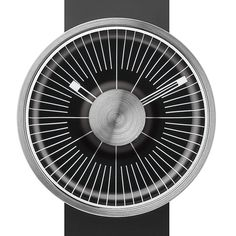 MY03 Hacker (black/silver) watch by ODM. Available at Dezeen Watch Store: www.dezeenwatchstore.com