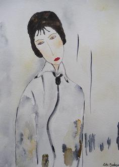 Watercolor paint Ana 18 x 25 cm