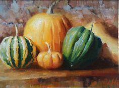 artist Likhomanov, Yuri, Pumpkin