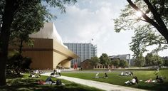 Galeria de Proposta Vencedora da Biblioteca Central de Helsinki / ALA Architects…