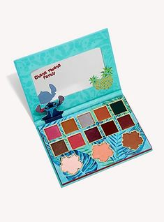 Ohana means family — and as your pop-culture-loving-family over here at Hot Topic, we're going to make sure you're not left behind on your must-have Disney Lilo & Stitch merch and apparel. Makeup Kit, Makeup Eyeshadow, Makeup Cosmetics, Eyeshadow Palette, Disney Inspired Makeup, Disney Makeup, Disney Stich, Stitches Makeup, Lilo Und Stitch