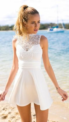 Lace Prom Dress Open Back Homecoming Dresses Short Prom Dress Lace White Prom Dress Homecoming Dresses White Homecoming Dresses 2018 Modest Homecoming Dresses, Open Back Prom Dresses, Dresses Short, Short Mini Dress, Cheap Prom Dresses, Sexy Dresses, Summer Dresses, Formal Dresses, Dress Prom