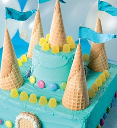 Torta castillo #receta #torta