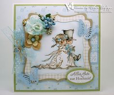 Little Butterfly Creations: DT-Card Stamp with Fun Challenge #213