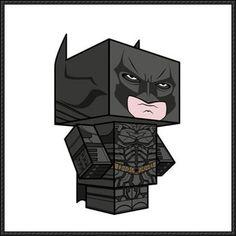 The Dark Knight Rises - Batman Cube Craft Free Download