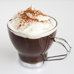 Viennese hot chocolate, a Pierre Hermé recipe so you just gotta know it's fabulous and decadent!
