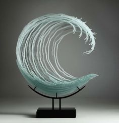 Carved Glass by K William LeQuier