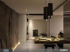 現代風的裝潢圖片為近境制作的設計作品,該設計案例是一間新成屋(5年以下)總坪數為166,格局為三房,更多近境制作設計案例作品都在設計家 Searchome