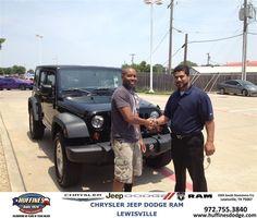 https://flic.kr/p/vFfwkq   #HappyAnniversary to Alex Harbinger on your 2013 #Jeep from Hamed Awadi at Huffines Chrysler Jeep Dodge Ram Lewisville!   www.huffinesdodge.com/?utm_source=Flickr&utm_medium=D...