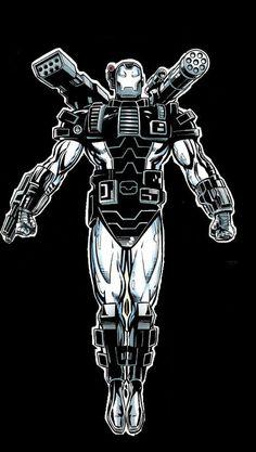Iron Man Armor Model 11 (War Machine Armor) by Patrick Zircher Empire Characters, Marvel Universe Characters, The Avengers, Marvel Vs, Marvel Heroes, Ghost Rider 2099, Iron Man Fan Art, Superhero Images, Best Iron