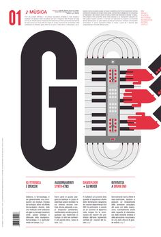 GO magazine Graphic Design, Illustration, Typography